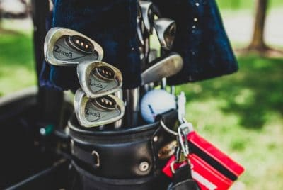 Leather Golf Bags