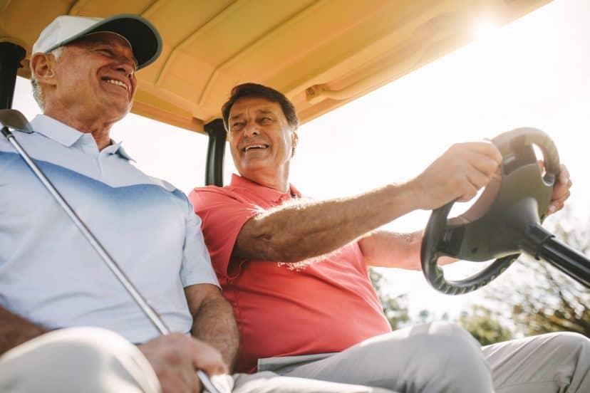 Cricket Golf Cart
