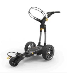 Electric golf push carts